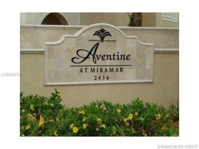 2520 W Centergate Dr UNIT 307, Miramar, FL 33025 - MLS#: A10350713