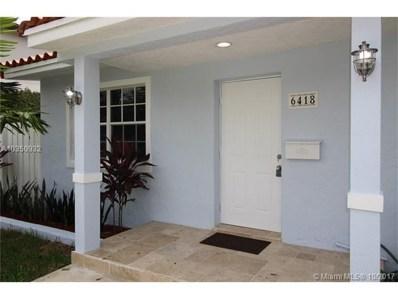 6418 SW 22nd St, Miami, FL 33155 - MLS#: A10350932