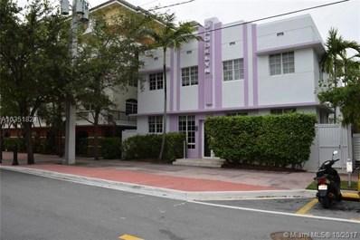 320 Euclid Ave UNIT N, Miami Beach, FL 33139 - MLS#: A10351824
