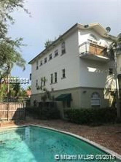2850 Coconut Ave UNIT 1, Miami, FL 33133 - MLS#: A10352834