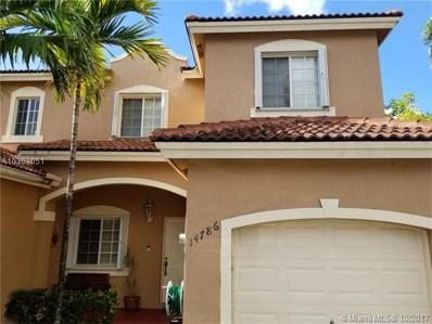 14786 SW 9th Ln UNIT 0, Miami, FL 33194 - MLS#: A10353051