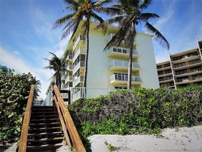 1161 Hillsboro Mile UNIT 301, Hillsboro Beach, FL 33062 - MLS#: A10353229