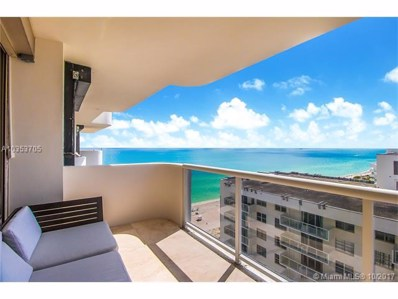 5757 Collins Ave UNIT 2304, Miami Beach, FL 33140 - MLS#: A10353705
