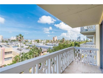1020 Meridian Ave UNIT 610, Miami Beach, FL 33139 - MLS#: A10353783