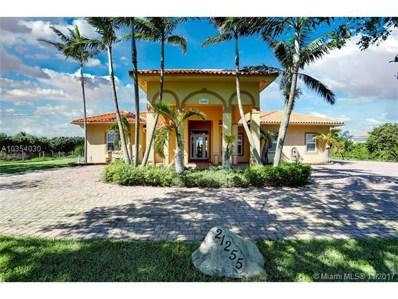 21255 SW 213th Ave Rd, Miami, FL 33187 - MLS#: A10354030