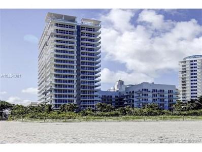 3737 Collins Ave UNIT S-603, Miami Beach, FL 33140 - MLS#: A10354381