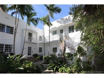 750 Espanola Way UNIT 12, Miami Beach, FL 33139 - MLS#: A10354935