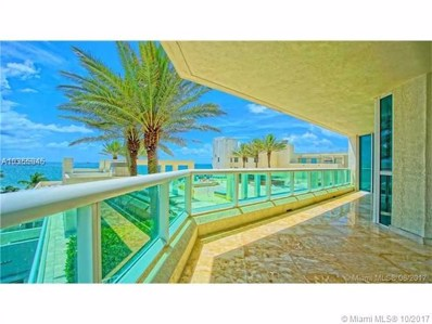 101 S Fort Lauderdale Beach Blvd UNIT 705, Fort Lauderdale, FL 33316 - MLS#: A10355045