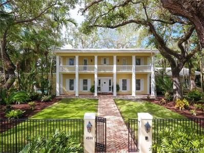 4500 University Drive, Coral Gables, FL 33146 - MLS#: A10355276