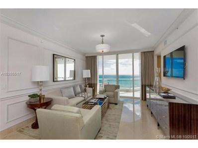 17875 Collins Av UNIT 2603, Sunny Isles Beach, FL 33160 - MLS#: A10355517