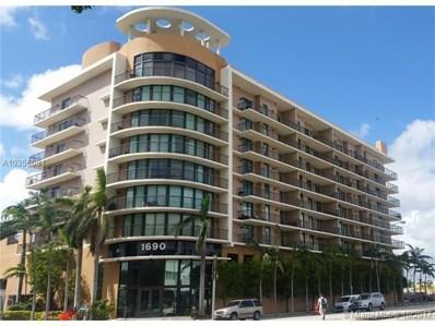 1690 SW 27 Avenue UNIT 805, Miami, FL 33145 - MLS#: A10356081
