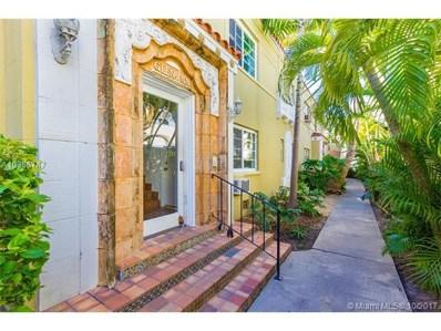 844 Jefferson Ave UNIT 2, Miami Beach, FL 33139 - MLS#: A10356747