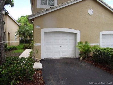 2130 Madeira UNIT 2130, Weston, FL 33327 - MLS#: A10357374