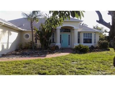 3364 SW Hill Street, Port St. Lucie, FL 34953 - MLS#: A10357745