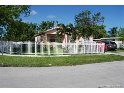 385 NW 138th St, North Miami, FL 33168 - MLS#: A10358611