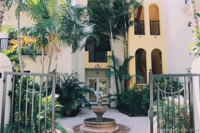 650 Valencia UNIT 504, Coral Gables, FL 33134 - MLS#: A10359347