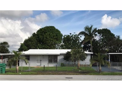 4845 NW 189th Ter, Miami Gardens, FL 33055 - MLS#: A10360126