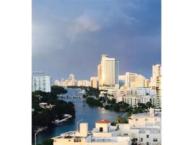 2829 Indian Creek Dr UNIT 1208, Miami Beach, FL 33140 - MLS#: A10361640