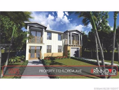 112 Florida Ave, Coconut Grove, FL 33133 - MLS#: A10361734