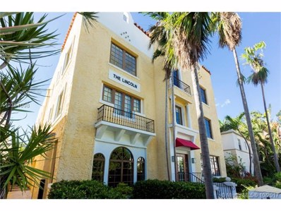 1614 Pennsylvania Avenue UNIT 2I, Miami Beach, FL 33139 - MLS#: A10364098