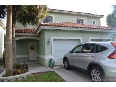 5616 Pierce St UNIT 5616, Hollywood, FL 33021 - MLS#: A10365883