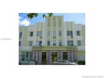 3025 Indian Creek Dr UNIT 306, Miami Beach, FL 33140 - MLS#: A10366200