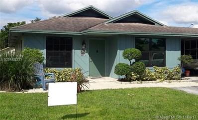 3689 W Valley Green Dr UNIT 44, Davie, FL 33328 - MLS#: A10366823