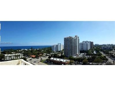 3015 N Ocean Blvd UNIT 11L, Fort Lauderdale, FL 33308 - MLS#: A10367530