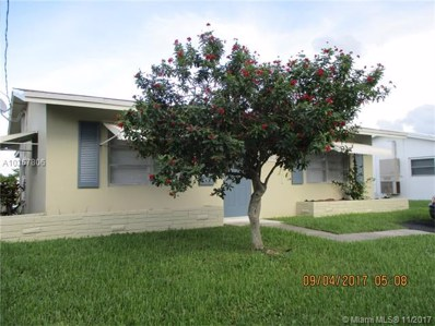 4806 NW 27th Ter, Tamarac, FL 33309 - MLS#: A10367806