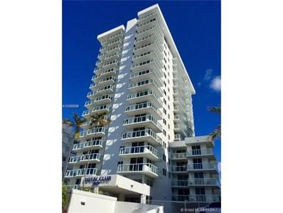 2457 Collins Ave UNIT 902, Miami Beach, FL 33140 - MLS#: A10368696