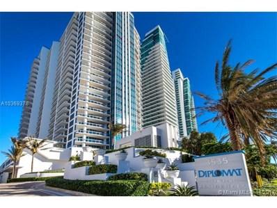 3535 S Ocean Dr UNIT 1603, Hollywood, FL 33019 - MLS#: A10369378