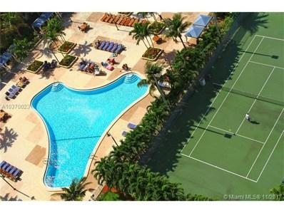 19370 Collins Ave UNIT 1621, Sunny Isles Beach, FL 33160 - MLS#: A10370023