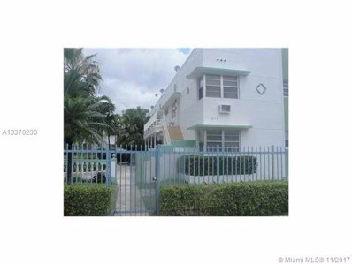 1971 Bay Dr UNIT 7, Miami Beach, FL 33141 - MLS#: A10370230