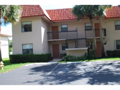 15710 E Waterside Cir UNIT 101, Sunrise, FL 33326 - MLS#: A10370395