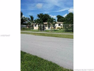 2981 NW 160th St, Miami Gardens, FL 33054 - MLS#: A10370447