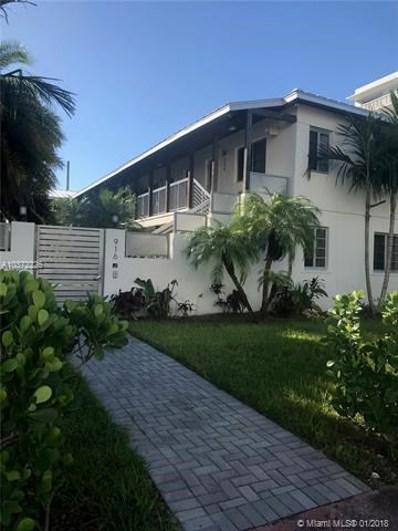 916 W 42nd St, Miami Beach, FL 33140 - MLS#: A10372226