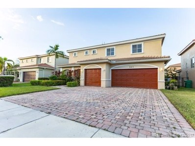 947 NW 205th St, Miami Gardens, FL 33169 - MLS#: A10372713
