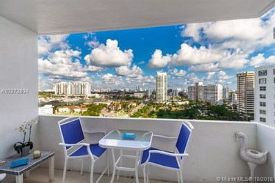 3 Island Ave UNIT 14A, Miami Beach, FL 33139 - MLS#: A10373804
