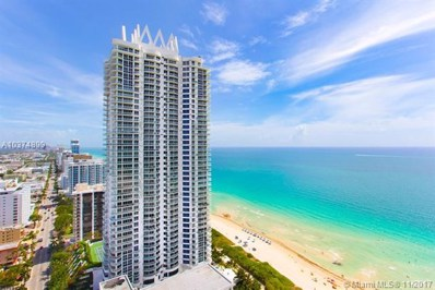 6365 Collins Ave UNIT 3606, Miami Beach, FL 33141 - MLS#: A10374899