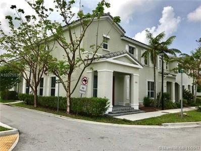 9252 SW 169th Psge UNIT 9252, Miami, FL 33196 - MLS#: A10375538