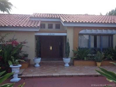 2930 SW 102nd Pl, Miami, FL 33165 - MLS#: A10375591