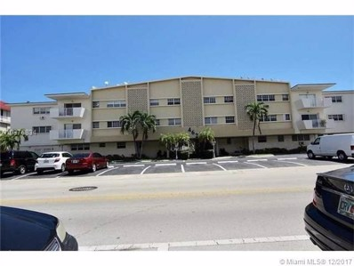 462 Golden Isles Dr UNIT 109, Hallandale, FL 33009 - MLS#: A10376834