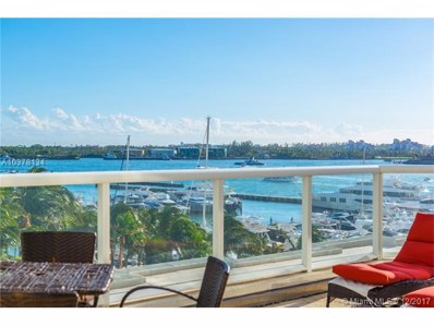 450 Alton Rd UNIT 605, Miami Beach, FL 33139 - MLS#: A10378134