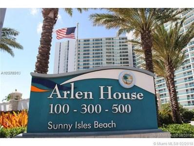 100 Bayview Dr UNIT 425, Sunny Isles Beach, FL 33160 - MLS#: A10378313
