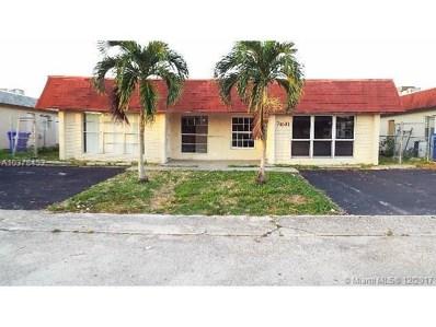 7641 SW 10th Ct, North Lauderdale, FL 33068 - MLS#: A10378453