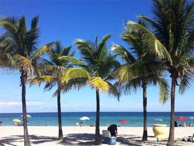 2201 S Ocean Dr UNIT 2402, Hollywood, FL 33019 - MLS#: A10378862