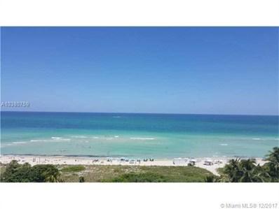 2457 Collins Ave UNIT 805, Miami Beach, FL 33140 - MLS#: A10380759