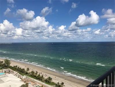 2030 S Ocean Dr UNIT 1922, Hallandale, FL 33009 - MLS#: A10380982