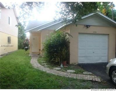 5396 NW 23rd St, Lauderhill, FL 33313 - MLS#: A10381381