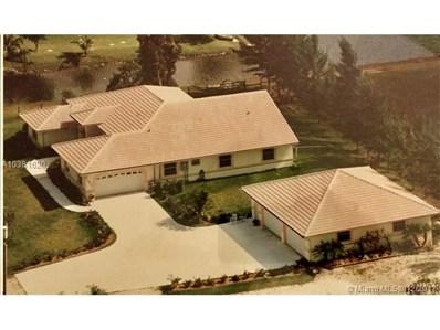 15900 SW 54th Pl, Southwest Ranches, FL 33331 - MLS#: A10381620